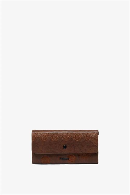 peňaženka Desigual Albita Reversible tabaco