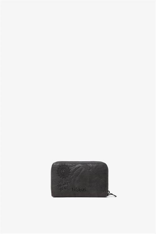 peňaženka Desigual Albita Mini Zip dark gray