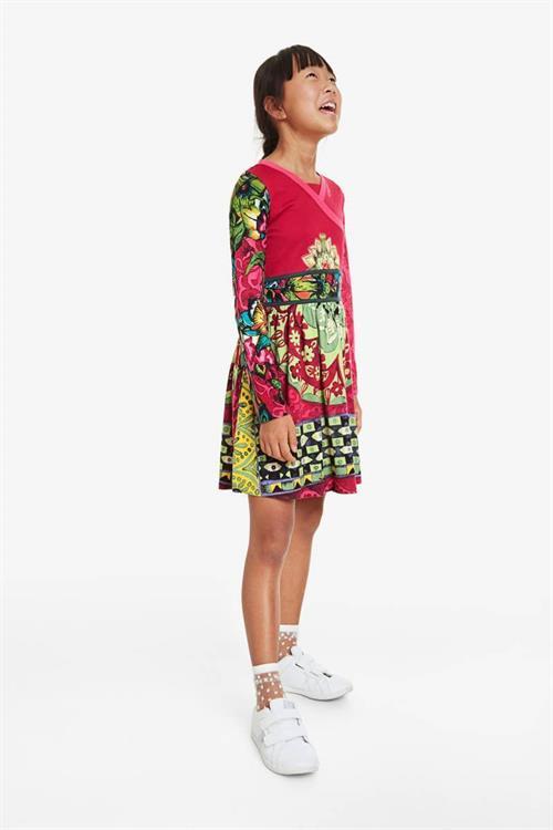 šaty Desigual Guinardó rosa glamour