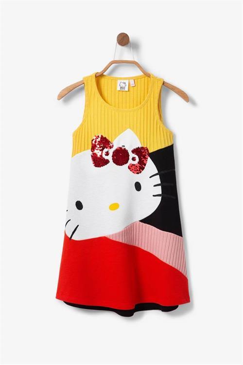 šaty Desigual Cat carmin