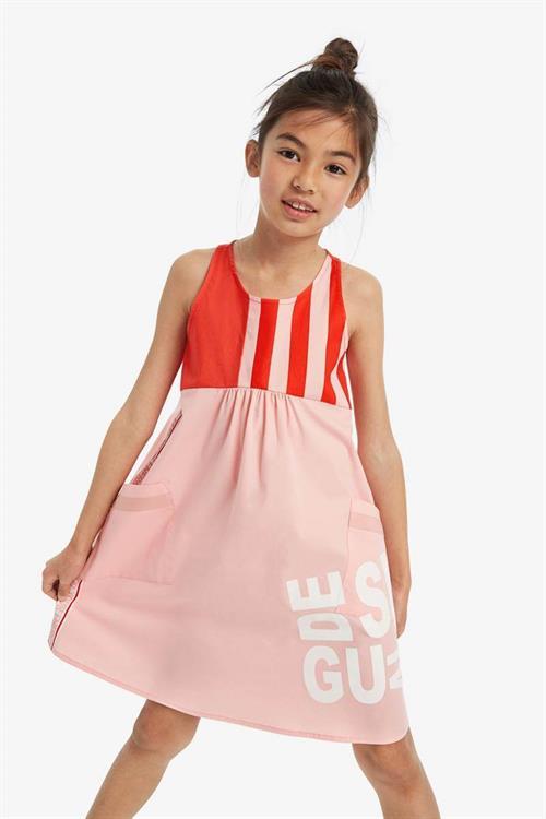 šaty Desigual Casual rosa