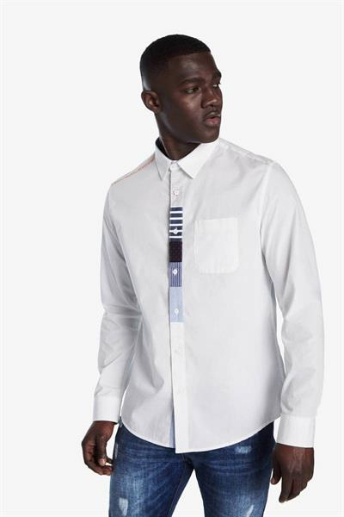 košeľa Desigual Conrado blanco