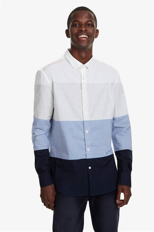 košeľa Desigual Tadeo blanco