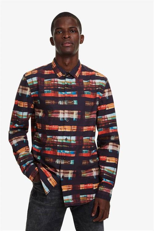 košeľa Desigual Kevin negro