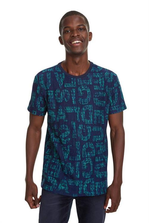 tričko Desigual Damaso marino