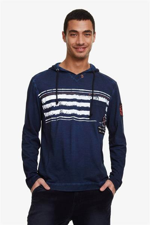 tričko Desigual Emerson navy