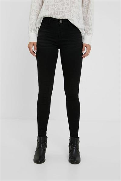 jeansy Desigual Basic 2 denim black wash