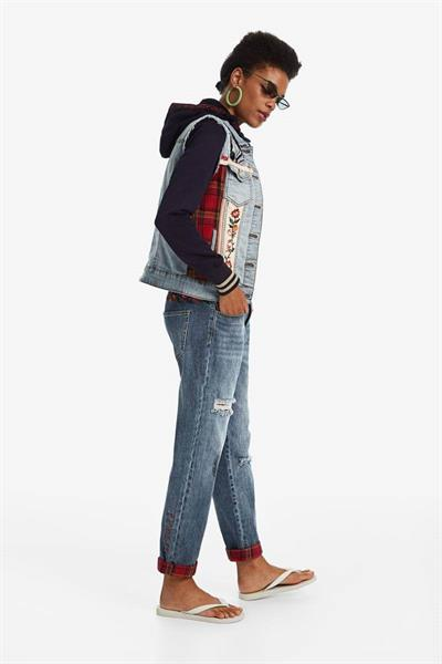 bunda Desigual Liberte denim bleach