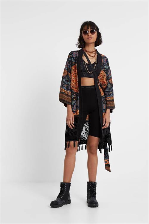 kimono Desigual Kim negro