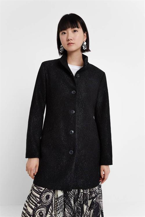 kabát Desigual Simone negro
