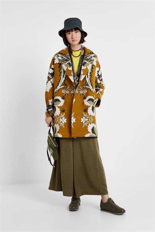 kabát Desigual Le Marais dorado