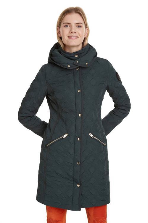 kabát Desigual Leicester emerald