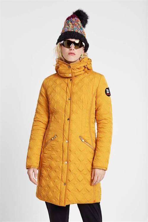 kabát Desigual Leicester mostaza