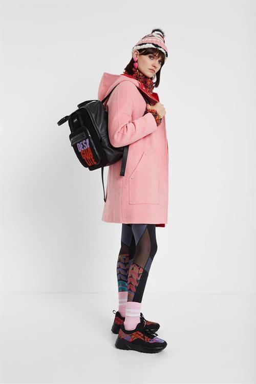 kabát Desigual Lenzy rosa marlen