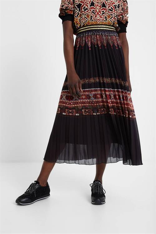 sukňa Desigual Alexandra negro