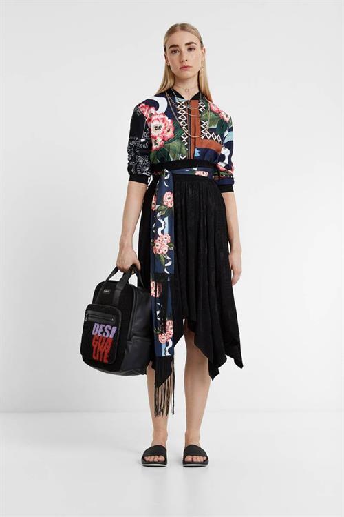 sukňa Desigual Bettany negro