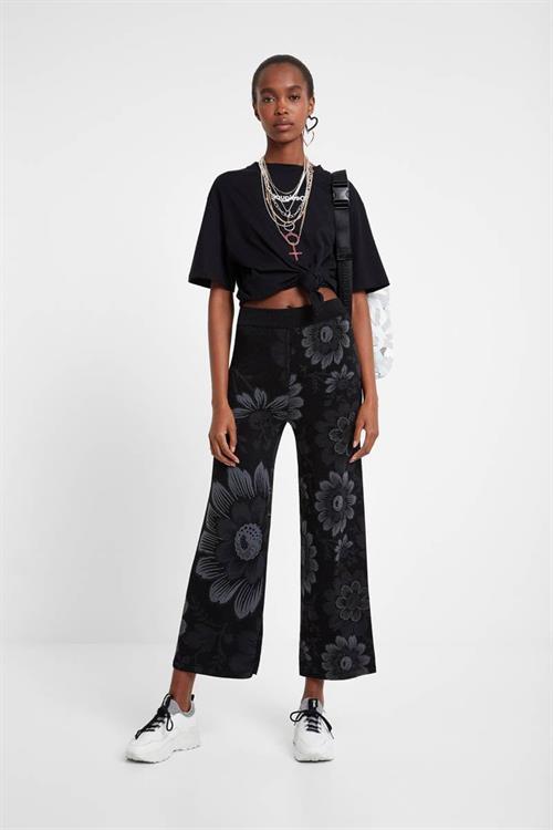 kalhoty Desigual Lua negro