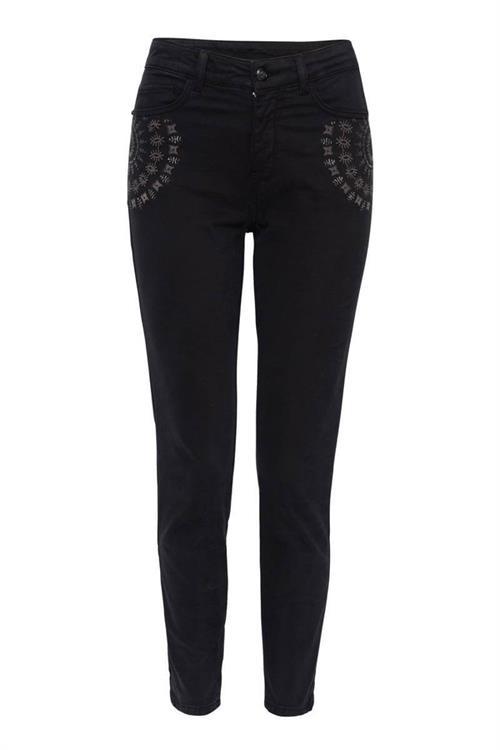 kalhoty Desigual Gyantse negro