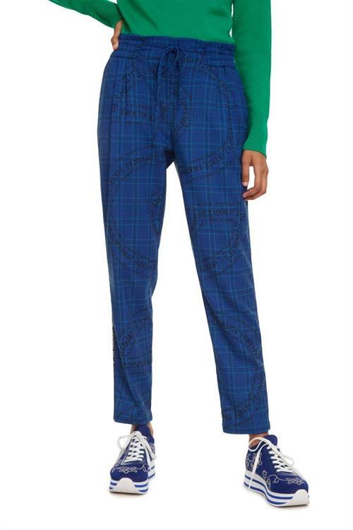 kalhoty Desigual Turin royal blue