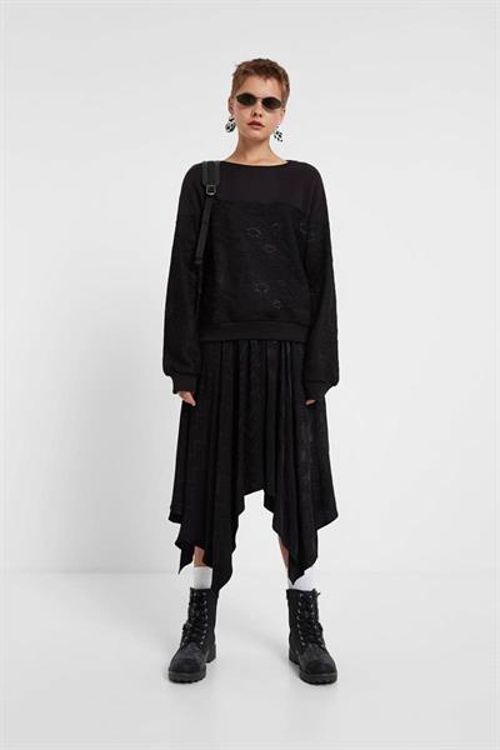 mikina Desigual Monoko negro