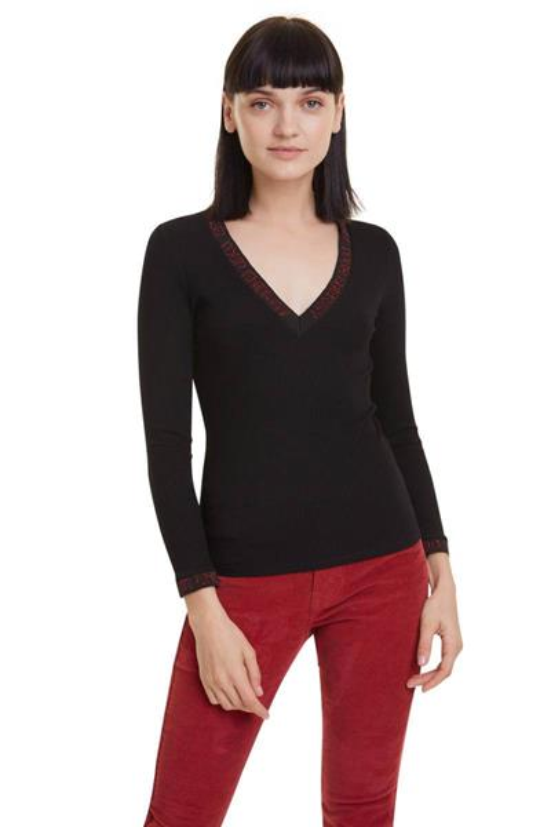 tričko Desigual Daria negro