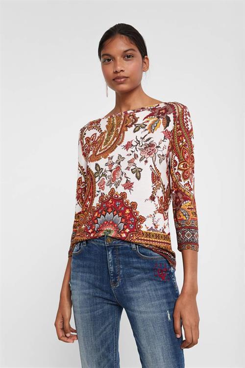 tričko Desigual Xenia menorca