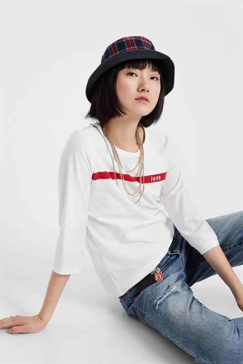 tričko Desigual Matilde egret