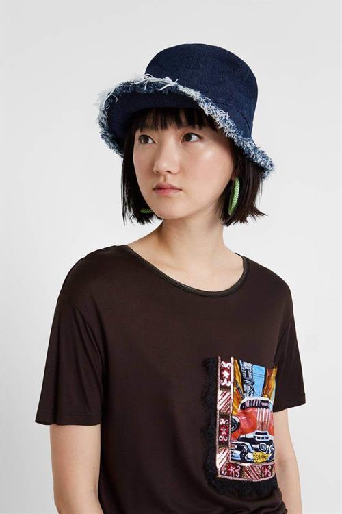 tričko Desigual Norah merlot