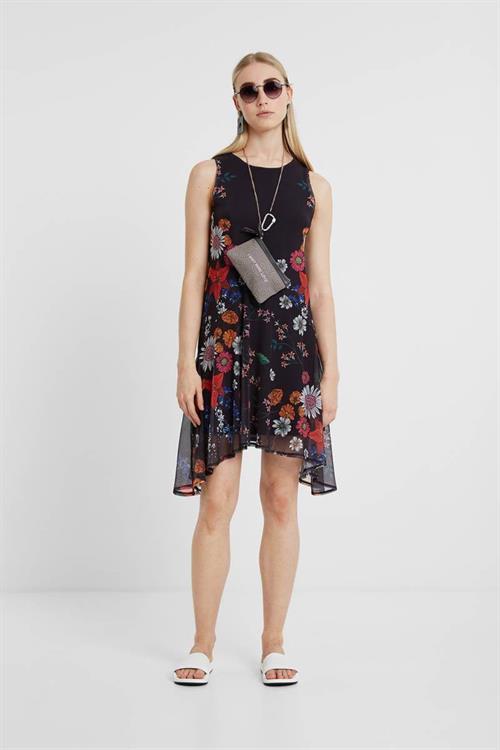 šaty Desigual Francine negro