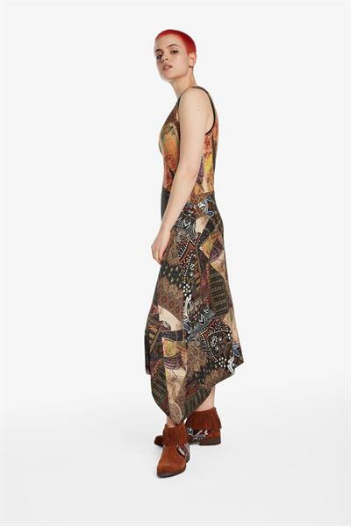 šaty Desigual Ilena curry