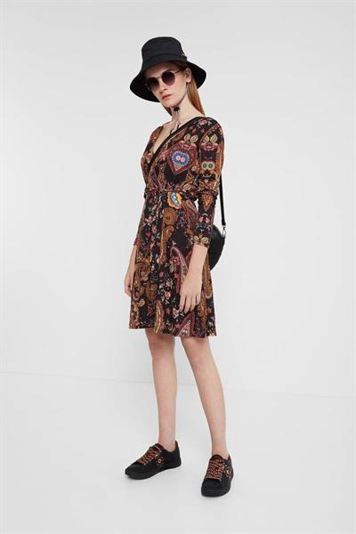 šaty Desigual Cira negro