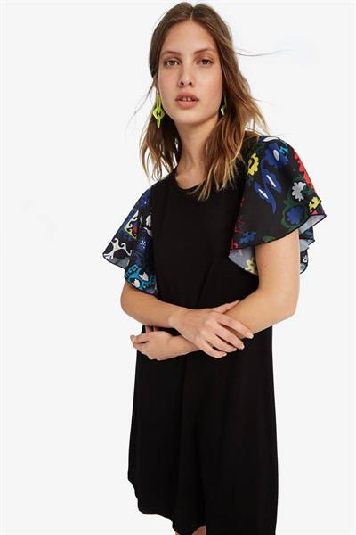 šaty Desigual Crisbell negro