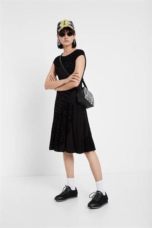 šaty Desigual Dan negro