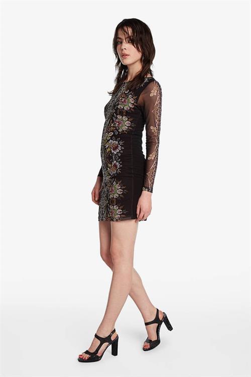 šaty Desigual Eyre negro
