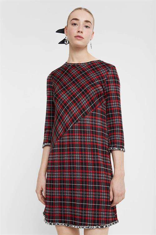 šaty Desigual Loverpool carmin