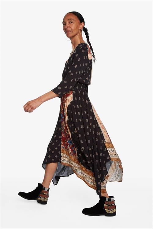 šaty Desigual Gelia cobre