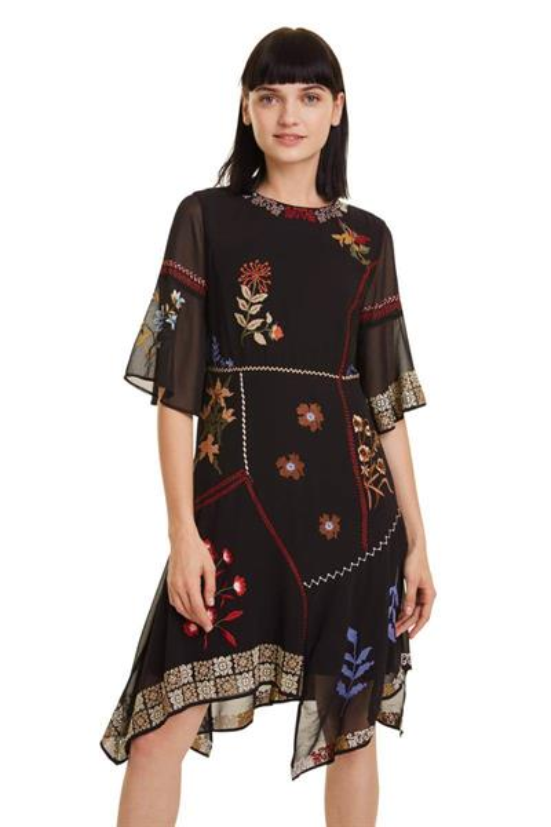 šaty Desigual Lemark negro