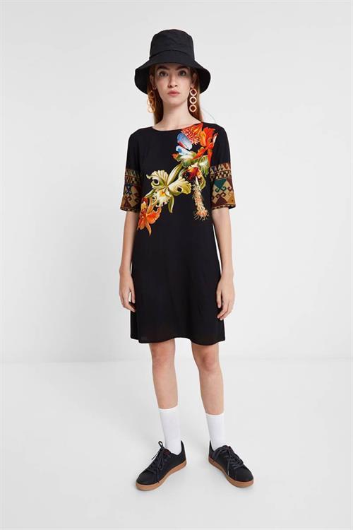 šaty Desigual Visegrád fuxia magico
