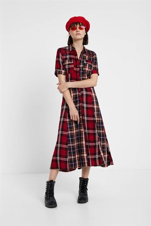 šaty Desigual Rosada merlot