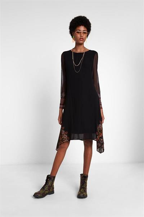 šaty Desigual Lessy negro