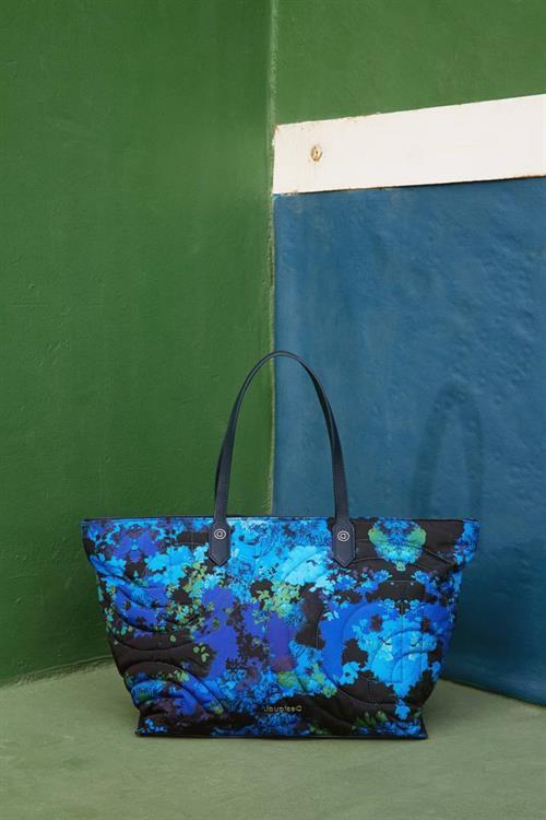 kabelka Desigual Camoflower C nautical blue