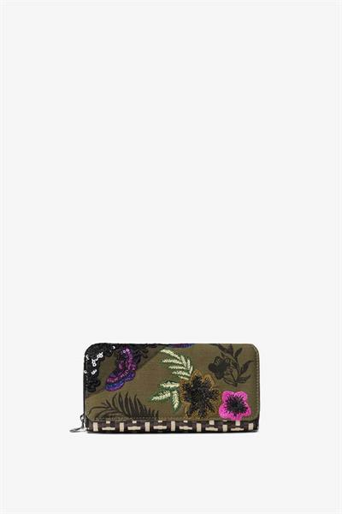 peněženka Desigual Queen Miracle Maria negro