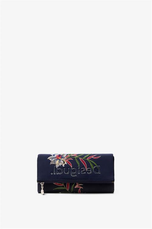 peňaženka Desigual Flower Sea Rocio navy
