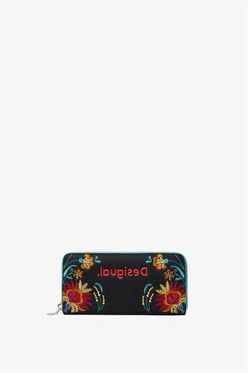 peněženka Desigual Adaggio Zip Around negro