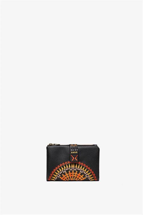 peňaženka Desigual African Mandala Pia negro