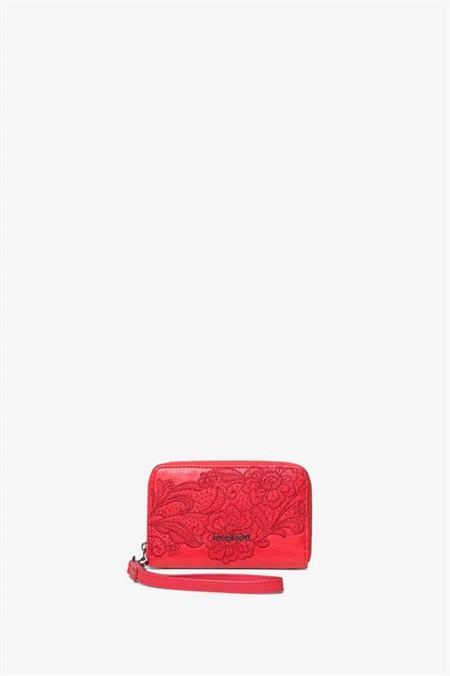 peňaženka Desigual Melody Mini Zip rojo