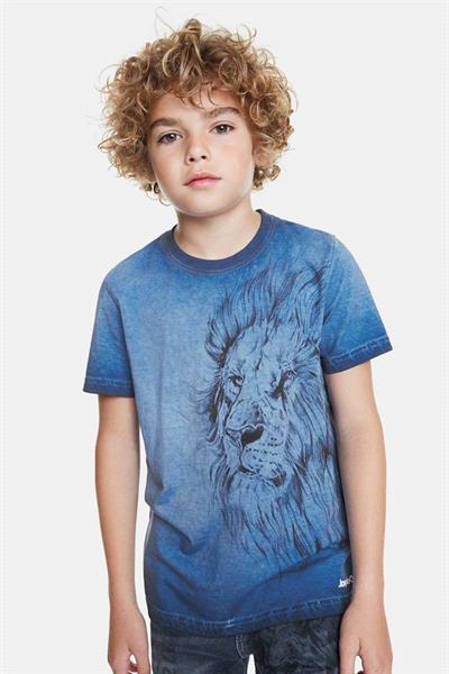 tričko Desigual Joana twilight blue