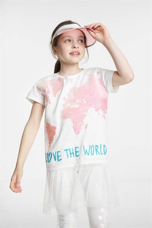 tričko Desigual Coventry algodón