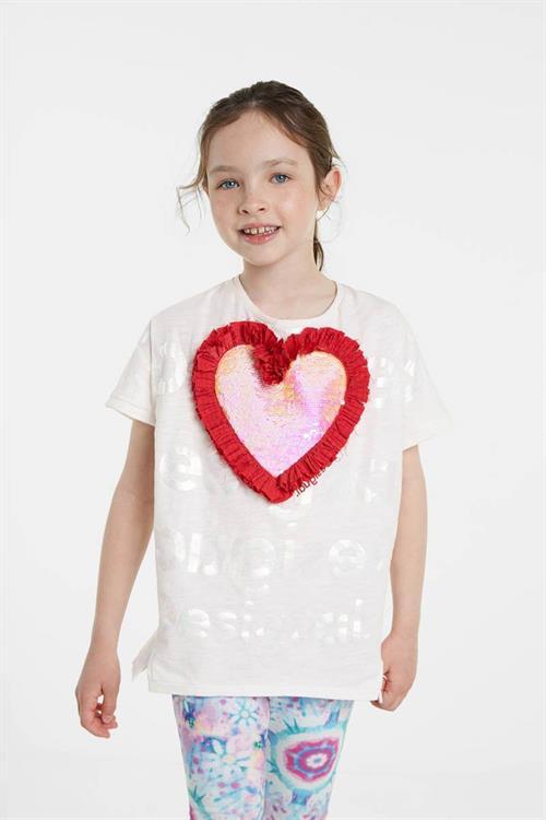 tričko Desigual Northampton crudo