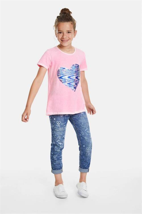 tričko Desigual Ipswich rosa fluor